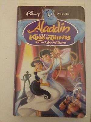 Aladdin and the King of Thieves (VHS, 1996)