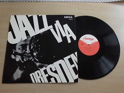 Jazz Via Dresden, LP, Various, Amiga 850116