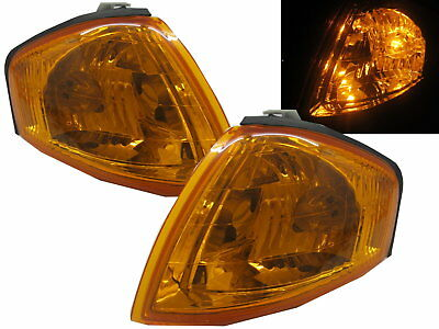 323 BJ 1998-2003 4D/5D CORNER LIGHT SIDE INDICATOR Repeate Yellow for MAZDA