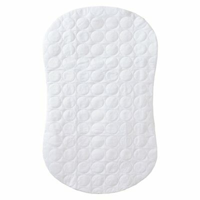Halo Bassinest Swivel Sleeper Mattress Pad Waterproof Polyester, White