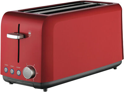 NEW Kambrook KTA140RED A Perfect Fit 4 Slice Toaster - Red