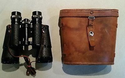 Vintage Binoculars & Case - Model no. 6204 - 7x50mm - Made in Japan - Circa 1950