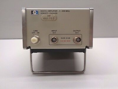 HP 8447A Amplifier 100 kHz to 400 MHz