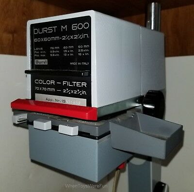 "Durst M600 Photo Enlarger Magnifier 60mm 2.25"" w/Color Filter"