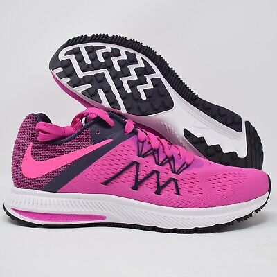 low priced a44eb 9962b NIKE ZOOM WINFLO 3 831562-602 Womens Running Shoe Pink & Purple