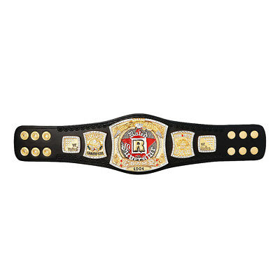 Official WWE Authentic  Rated-R Spinner Championship Mini Replica Title Belt