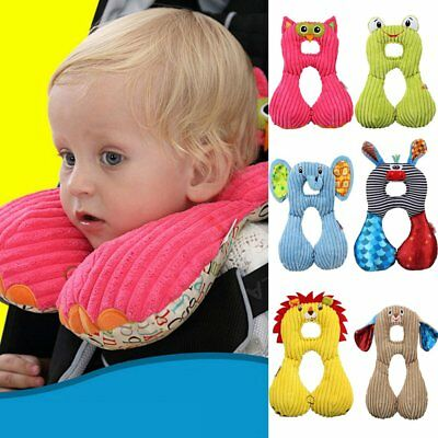 U-shape Baby Kids Head Neck Support Pillow Animal Travel Toddler Car Seat Pillow
