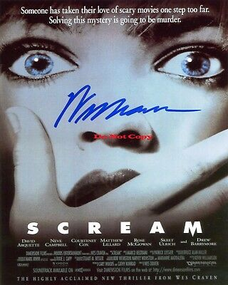 Wes Craven Signed Scream Signed 8x10 autographed RP