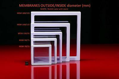 MEMBRANE DISPLAY CASE for jewelry - 10x BOX SET 90x90x20 mm