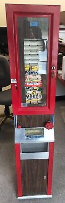 Vintage Monroe Industries Candy Vending Machine With Key. NO RESERVE