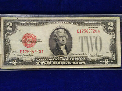 1928 Series $2 Red Seal U.S. Note **NICE CONDITION, RIGHT PRICE**