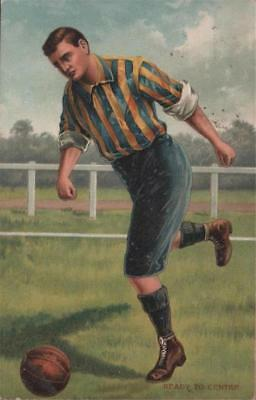Sport Football Ready To Centre 1910