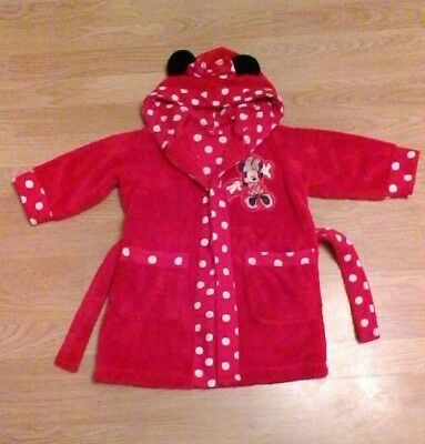 18 - 24mths Minnie Mouse Dressing Gown