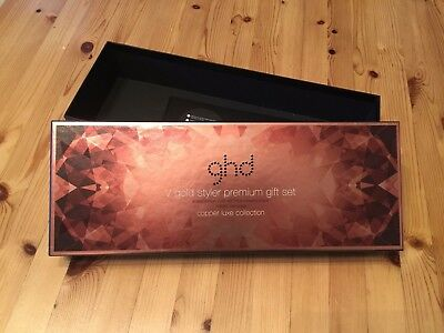 'ghd' Copper Luxe V Gold Styler Premium Gift Set Box With Instructions