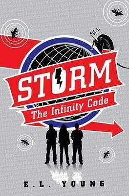 BRAND NEW Storm : The Infinity Code by  E. L. Young (Hardcover)