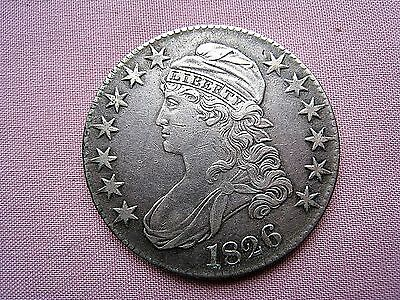 1826 Half Dollar Capped Bust.......AU.....GOOD EARLY HALVES ARE GETTING SCARCE !