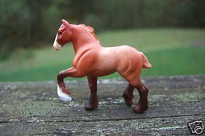 Breyer Mini Whinnies Surprise 2 High Stepping Draft Drafter Splash Red Roan