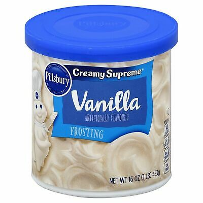 New Sealed Pillsbury Creamy Supreme Vanilla Frosting 16Oz Free Worldwide Ship