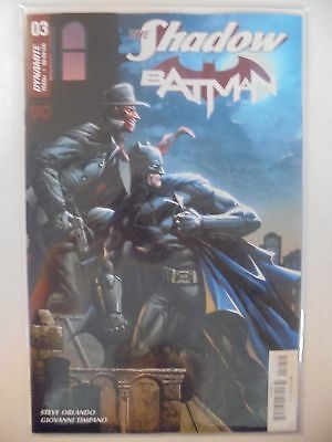 The Shadow/Batman #3 C Cover DC Dynamite NM Comics Book