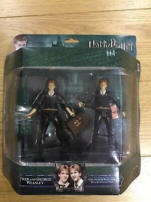 Harry Potter Weasley Twins Action Figures Brand New