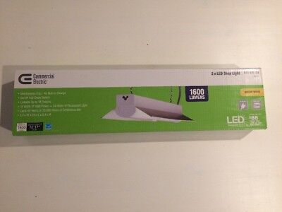 Commercial Electric 2ft Linkable LED Shop Light