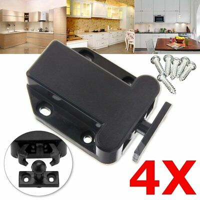 4X Push to Open Touch Latch Release Door Catch Cabinet Cupboard Door Stopper 4KG
