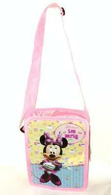 Disney Minnie Mouse Clubhouse Pink Girls School Shoulder Lunch Bag