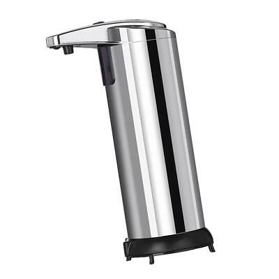 Silver Stainless Hands Automatic IR Sensor Touchless Soap Liquid Dispenser