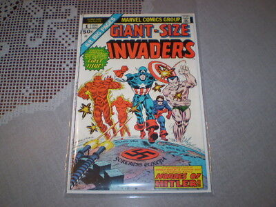 1975 Giant-Size Invaders #1 Marvel comic Book