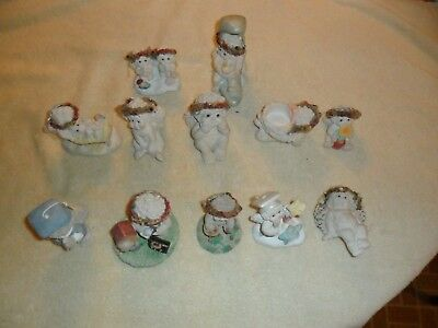 Lot 12 Dreamsicles Figurines Kristen Cherubs large size