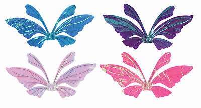 Shimmer Iridescent Opal Fairy Wings Pixie Butterfly Costume Wings
