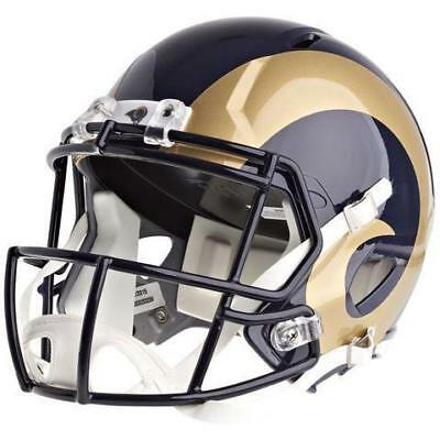 NEW Los Angeles Rams NFL Riddell Replica Speed Gridiron Helmet