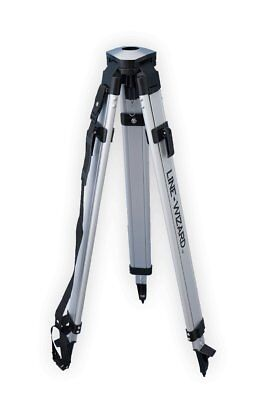 "Line-Wizard LW-100-AA-TS1 Dome-Head Aluminum Contractor Survey Tripod. 5/8"" x 11"