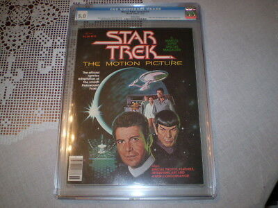1979 Star Trek The Motion Picture CGC 5.0 #15 Marvel Super Special Magazine