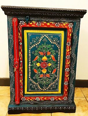 Moroccan luxury cabinet, handcrafted-multicolored