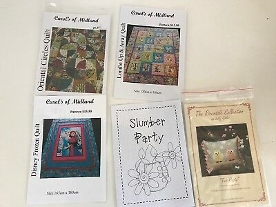 5 Quilting Patterns