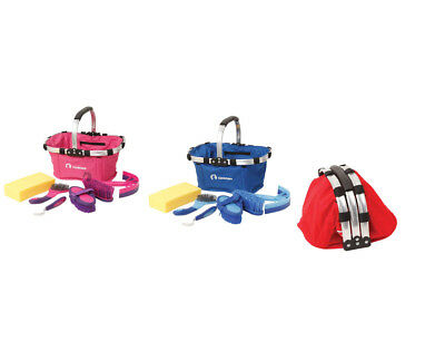 Zilco Horse Grooming Kit 6 Pieces FREE Carry Basket 3 Colours FREE Postage