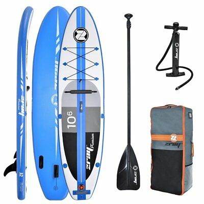 ZRAY A2 Premium 10.6 SUP Board Stand Up Paddle Surf-Board aufblasbar Paddel ISUP