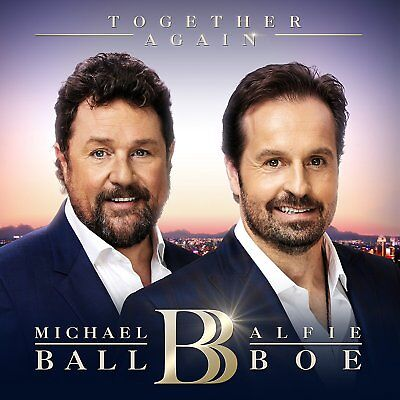 Together Again by Michael Ball And Alfie Boe Audio CD Music Album NEW SEALED