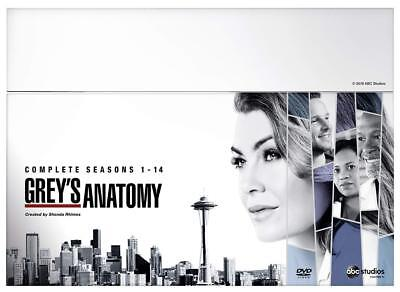GREY'S ANATOMY SEASONS 1+2+3+4+5+6+7+8+9+10+11+12+13+14 DVD Boxset New & Sealed