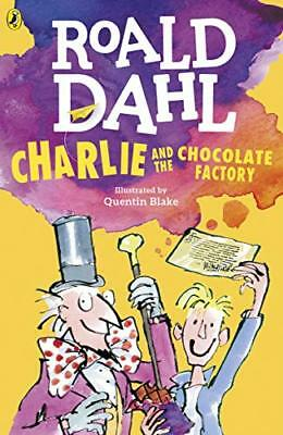Charlie and the Chocolate Factory (Dahl Fiction by Roald Dahl New Paperback Book