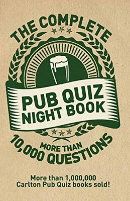 The Complete Pub Quiz Book: More than 10,000 questions by Sue Preston, Roy...