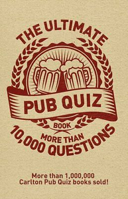 The Ultimate Pub Quiz Book: More Than 10,000 Questions! by Sue Preston, Roy...