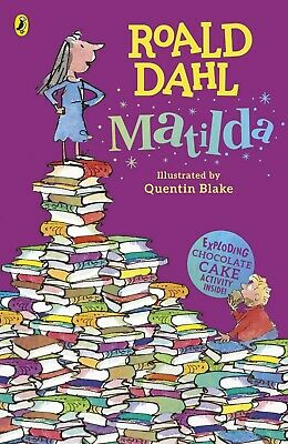 Matilda (Dahl Fiction) by Roald Dahl New Paperback Book