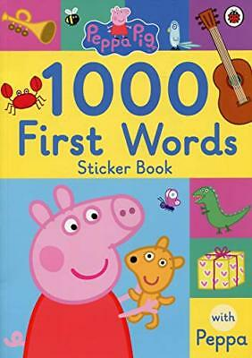 Peppa Pig: 1000 First Words Sticker B by PEPPA: 1000 FIRST WO New Paperback Book