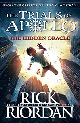 The Hidden Oracle (The Trials of Apollo Book  by Rick Riordan New Paperback Book