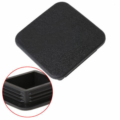 Class III IV 2''Black Trailer Hitch Cover Plug Receiver Cover Cap Dust Protecter