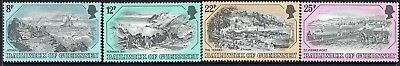 Guernsey, 1978 Old Prints 4 Mnh