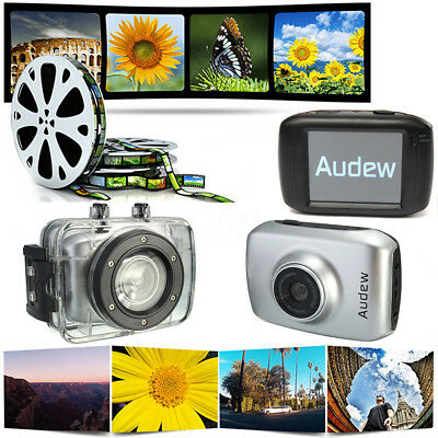 Original AUDEW D10 2.0''Touch Screen HD 720P Sports Action DV Camera Waterproof