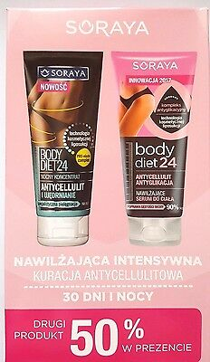 Soraya Set Body Diet 24 Treatment Anti-Cellulite Concentrate + Serum at Night